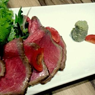 ローストビーフ(牛たん炭焼 利久 赤れんがテラス店)