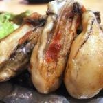 牡蠣ステーキ・醤油