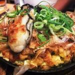 牡蠣のお好み焼