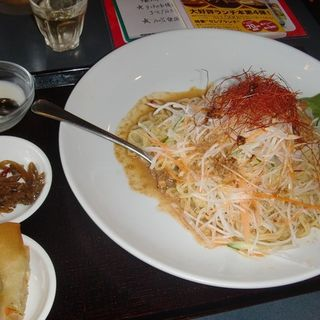 冷し坦々麺セット(王府 )