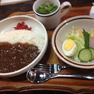 日替わりランチ(カレー)(珈琲茶館 紫陽花)