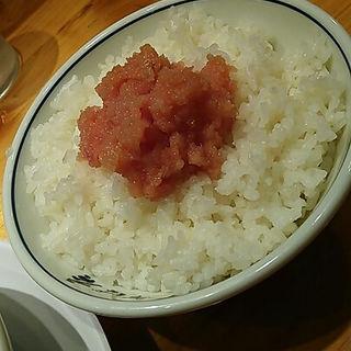 明太子ご飯(田中そば店 秋葉原店 )