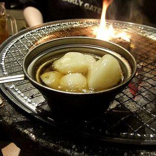 青森産ニンニクのオイル焼き(田中ホルモン)