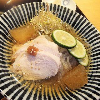 鳥心 冷麺(田町 鳥心 )