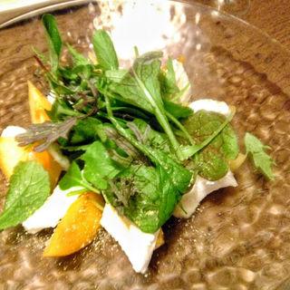 柿のカプレーゼ(畑のあぐり )