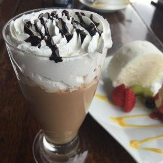 チョコレートドリンク(白い恋人パーク内チョコレートラウンジ)
