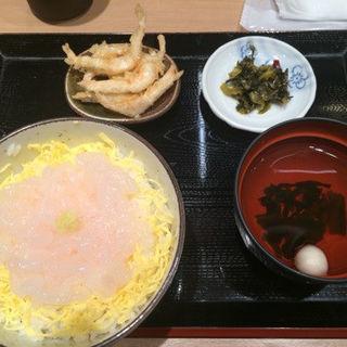白エビ刺身丼定食(白えび亭 )