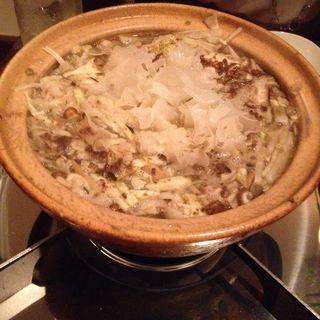 きのこ鍋(白金 喜玖蔵 )
