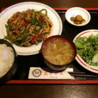 青椒肉絲(盤古茶屋)