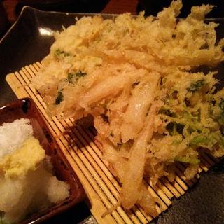 旬の野菜天ぷら(真希そば)