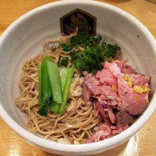 鯛油そば(スープ付) (真鯛らーめん 麺魚 )
