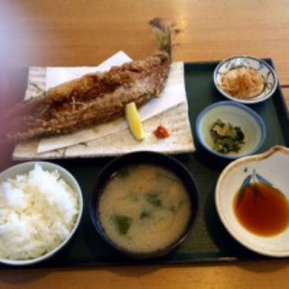 唐揚げ定食(磯料理竹波)