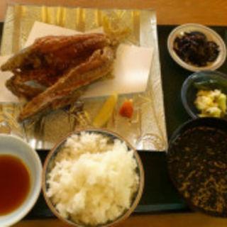 揚魚定食(磯料理竹波)