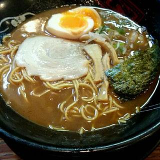 炙りさばランチ+味玉(神仙)