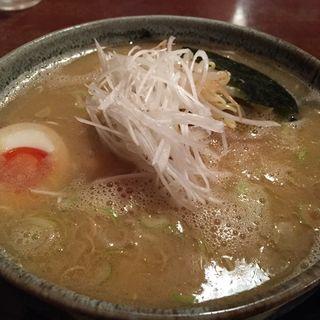 醤油、太麺(神成)