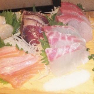 本日の鮮魚 五点盛り(神楽屋 )