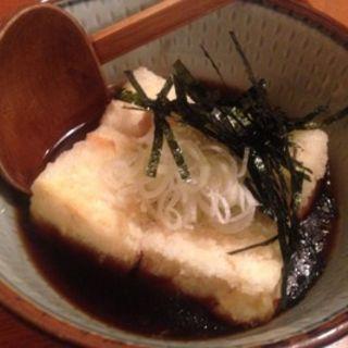 揚げ出し豆腐(神田・むら治屋 (かんだ・むらじや))