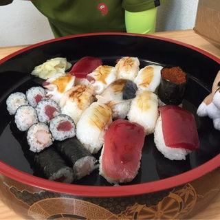 ジャンボにぎり(福寿司)