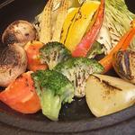 8種野菜のオーブン焼き バーニャソース
