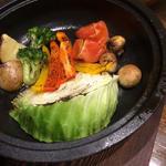 焼野菜のバーニャカウダソース