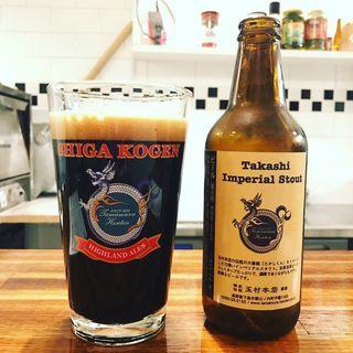 TAKASHI IMPERIAL STOUT(yama pizza)