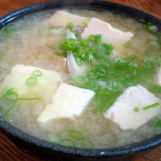 ハゲの味噌汁(立呑処 ぎん虎)