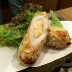 ポテト入りちくわの天ぷら