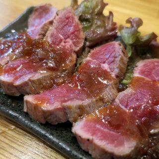 牛タタキ(立呑処 ぎん虎)