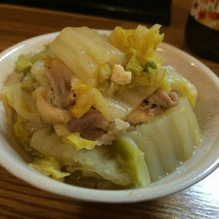 白菜の旨煮カレー風味(立呑処 ぎん虎)