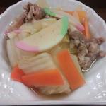 白菜と豚肉の炊き合わせ