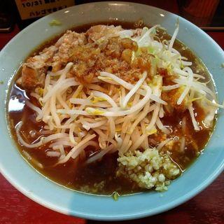 小ラーメン(麺が豆腐)(立川マシマシ 神田駅前店 )