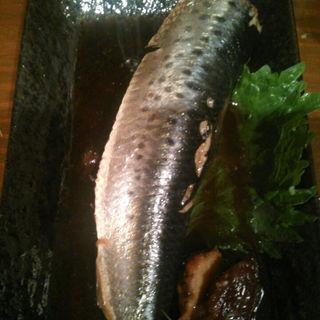 大羽イワシ梅生姜煮(立飲み処 ちびちび )