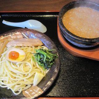 伊勢海老つけ麺を200g(竹本商店 つけ麺開拓舎 仙台泉店 )