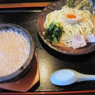 魚介豚骨つけ麺を並盛り200g(竹本商店 つけ麺開拓舎 仙台泉店 )