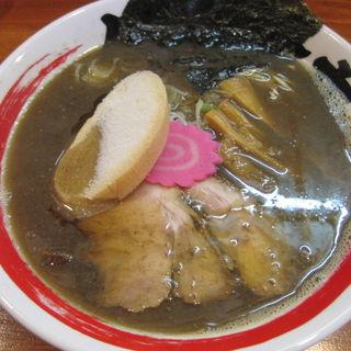 煮干しそば(小盛)(竹本商店 仙台煮干センター )