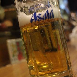 生ビール(やき鳥 狸)