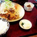牛焼肉炒めセット