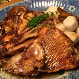 鯛のあら炊き(箸ずめ )