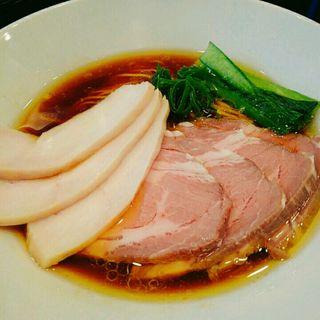 チャーシュー芳醇鶏そば(醤油)(麺や福はら)