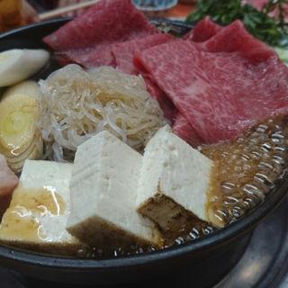 牛鍋(米久本店 (よねきゅうほんてん))