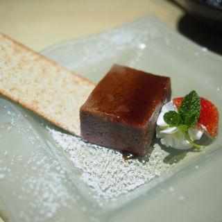 紅芋のプリン(縁 新宿店)
