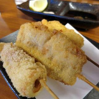 串カツ(鯛チーズ・豚肉・ちくわ)(縁寿 (enju))