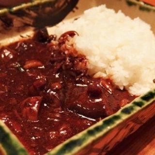 牛筋の特製ハヤシライス (美食米門品川港南 Wine&Grill )