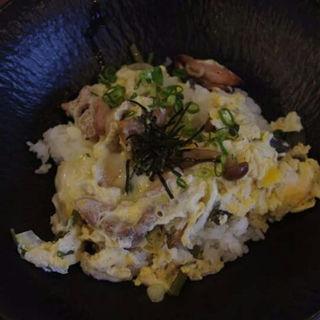 炭火焼き親子丼(翠峰荘 )