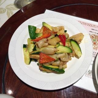 ミル貝のXO醬炒め(老香港酒家京都 (オールドホンコンレストランキョウト))