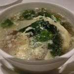 豚肉と玉子のスープ