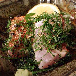 ハマ鯛焼霜薬味(酒肴 かおりぐさ)