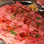 日本酒飲みながら焼肉を食べるコース
