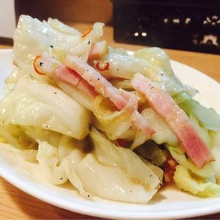 お酒のお供!ベーコンアンチョビキャベツ(肉バル Meat (ニクバル ミート))