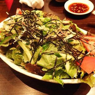 ばんざいサラダ(肉ばんざい )